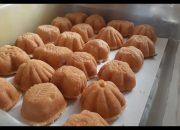 Nắng và gió miên tây | Cách làm BÁNH BÔNG LAN nướng bếp than truyền thống