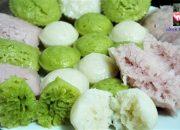 BÁNH BÒ HẤP RỄ TRE – Cách Pha Bột làm Bánh Bò hấp ủ Men – steamed rice cake by Vanh Khuyen