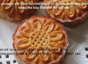 Cách làm bánh trung thu truyền thống   hoclambanhtrungthu.com