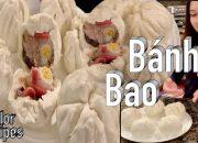 Hướng dẫn cách pha bột làm bánh bao ngon xốp mềm – Steamed Buns – Cuộc sống Mỹ