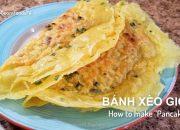 Cách Pha Bột & Đổ BÁNH XÈO Cho Bánh Mỏng, Giòn Tan- How to make Pancakes- MonngonHoGuom