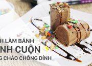 Làm bánh bông lan cuộn Chocolate bằng chảo chống dính | Điện máy XANH