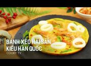 #CookyVN – Cách Làm Bánh Xèo Hải Sản Kiểu Hàn cho cả nhà bữa ăn đổi vị ngon ngất ngây – Cooky TV