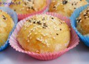 BÁNH BAO NƯỚNG – Cách làm Xá Xíu / Char siu – Bánh Bao nướng Xá Xíu / Xiu Pao by Vanh Khuyen