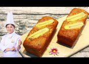 Cách làm Bánh Bông Lan Chuối mềm xốp tại nhà/ How to make banana cake