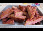Bánh chuối nướng, chia sẻ bí quyết làm bánh ngon, màu tự nhiên ||Baked Banana Cake || Natha Food