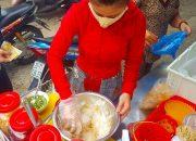 Kì lạ em gái Sài Gòn bán bánh tráng trộn chỉ bán 2 tiếng là hết sạch | street food of saigon