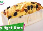 Cách làm bánh Cake Nho – Raisin Butter Cake