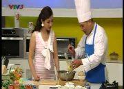 Vui khỏe mỗi ngày – Cách làm bánh flan trái dừa hấp dẫn