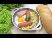 Cách làm bánh mì chảo ăn sáng SIÊU NHANH, SIÊU NGON