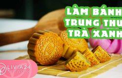 Cách làm bánh trung thu trà xanh thơm ngon, dễ nhất – Mooncake Recipe | Webtretho