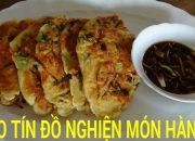 Cách làm BÁNH XÈO TÔM MỰC HÀN QUỐC, món ngon Hàn Quốc | Vietnamese German Kitchen Garden
