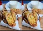 Cách làm bánh mì nướng tôm trứng vừa ngon vừa bổ dưỡng