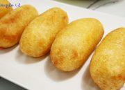 BÁNH CHUỐI CHIÊN GIÒN – Cách làm Bánh Khoai Mì bọc Chuối chiên giòn rụm by Vanh Khuyen
