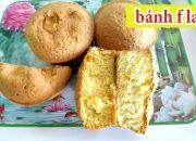 chia sẻ cách làm bánh flan tại nhà công thức bánh bông lan ổ kinh doanh #nguyentrongkha