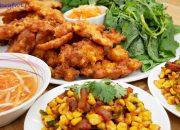 BÁNH BẮP CHIÊN GIÒN và BẮP XÀO – Món ăn cuốn Rau ăn no mà vẫn còn thèm by Vanh Khuyen