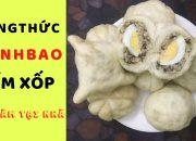 Cách làm bánh bao tại nhà thơm ngon MỀM XỐP – Make Steamed Bun Dumpling Cake With Pork