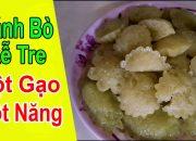 🍚🍮cách Làm Bánh Bò Rễ Tre Bột Gạo Bột Năng Lá Dứa Nước Dừa Tươi | How To Make Bamboo Root Cake