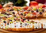 Công Thức Làm Đế Bánh Pizza Đơn Giản Tại Nhà