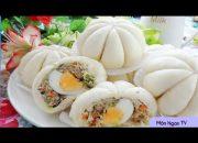 BÁNH BAO | Cách Làm Bánh Bao Ngon Đơn Giản Tại Nhà |MÓN NGON TV|Món ngon mỗi ngày |