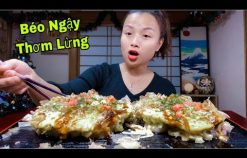 Bánh Xèo Hải Sản Kiểu Nhật, Okonomiyaki Thơm Ngon Hấp Dẫn Ko Thể Chối Từ #447