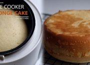 Cách Làm Bánh Bông Lan Bằng Nồi Cơm Điện (không cần máy) | Rice Cooker Sponge Cake | Lilo Kitchen