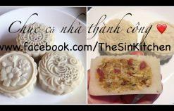 Kỹ thuật nhồi bột bánh dẻo, bọc nhân và đóng khuôn sắc nét
