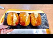 Cách Làm Bánh Donut nhân kem trứng Siêu Ngon, không cần lò nướng/ Góc Nấu Ăn TV #38