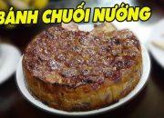Cách làm BÁNH CHUỐI NƯỚNG Cực Ngon ❤ Vietnamese Banana Pancake