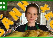 Vợ Mỹ có biết làm Bánh Xèo cho chồng Việt hay không ? || The Crispiest Vietnamese Pancake ????