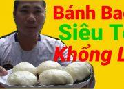 TUE NHI VLOGS Làm Bánh Bao Siêu To Khổng Lồ Tặng Bà Tân vlog ✓ Nguyên Liêu Cách Làm Bánh Bao NTN ?