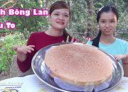 Lần Đầu Mẹ Kế Làm Bánh Bông Lan Siêu To Khổng Lồ Cùng Với Chủ Đại Lý Trứng Gà