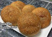 Bánh tiêu, cách làm bánh tiêu ngon, bánh làm từ bột mì. Bếp Yên Bình.