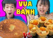 Đại Chiến Vua Đầu Bếp – Cuộc Thi Làm Bánh Bông Lan ❤ KN CHENO