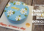 hướng dẫn làm bánh bông lan, bánh kem mini cực ngon | how to make birthday cake so easy – #myaca