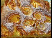 BÁNH BÔNG LAN TÁO – Cách làm Bánh Táo đơn giản không cần Máy – Apfelrosenkuchen by Vanh Khuyen