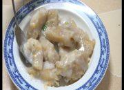 Hướng dẫn  chị em làm món bánh chuối nước cốt dừa chuẩn miền Tây