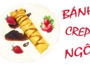 CÁCH LÀM BÁNH CREPE BẮP (NGÔ) – VIETNAMESE roasted corn CREPE CAKE recipe