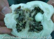 Cách làm bánh Bao nhân mặn tại nhà SIÊU ĐƠN GIẢN – Hòa Chef