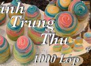 Cách làm bánh trung thu ngàn lớp xinh ngon và đẹp – Thousand layers mooncakes  –  Cuôc Sống Mỹ