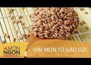 Dạy cách làm hai món từ gạo lức tốt cho sức khỏe | Món Ngon Việt Nam
