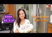 Dễ Làm Bánh Bò Hấp Từ Bột Pha Sẵn – Easy To Make Rice Flour For Cake