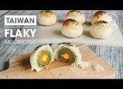 How to make Taiwan Flaky Mooncake | Cách làm bánh trung thu ngàn lớp kiểu Đài Loan | Nhi Chan