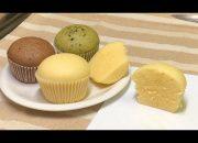 Bánh Bông Lan hấp -Chỉ 2 Bước làm Cực đơn giản mà Ngon* How to make Steamed Cake