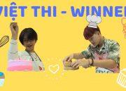 VIỆT THI – WINNER | Trổ tài làm bánh kem tình yêu