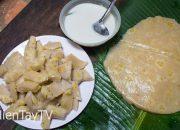 Bánh chuối ăn với nước cốt dừa [Miền Tây TV]