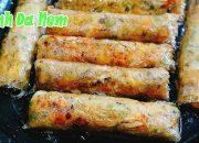 Cách làm BÁNH ĐA NEM GIÒN TAN cực dễ   How to make fried nem crispy vietnamese